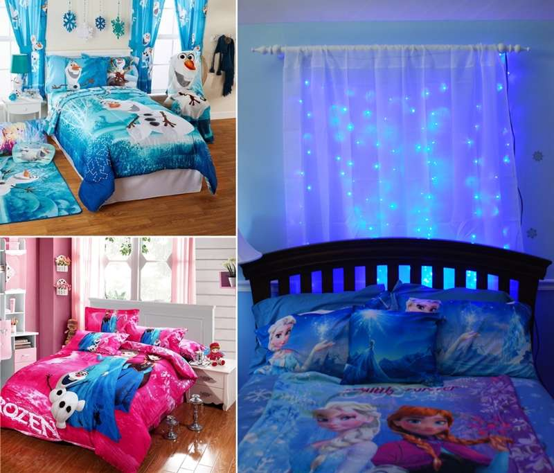 10 frozen movie inspired kids' room decor ideas