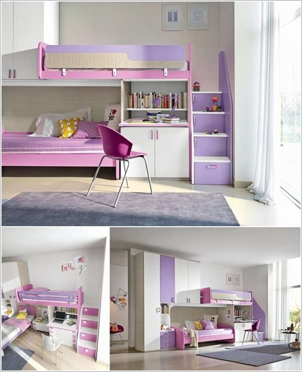 15 Cool Bunk Beds That Combine Sleep And Storage Together