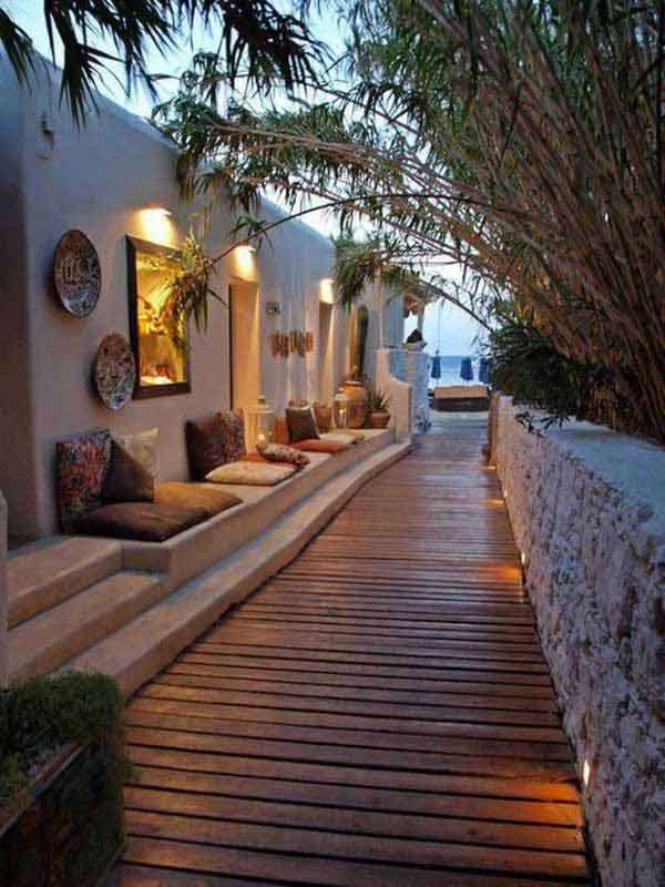 15 Cool Ideas For Narrow and Long Outdoor Spaces - Daily Feed on Long Patio Ideas id=29180