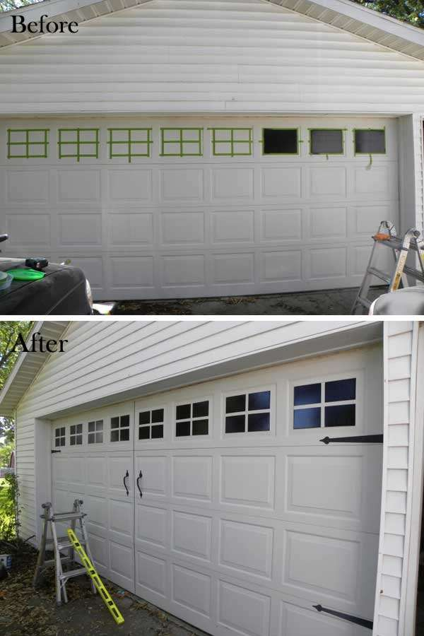 15 Easy and Budget Friendly Ideas to Enhance The Curb on Garage Door Painting Ideas  id=37159
