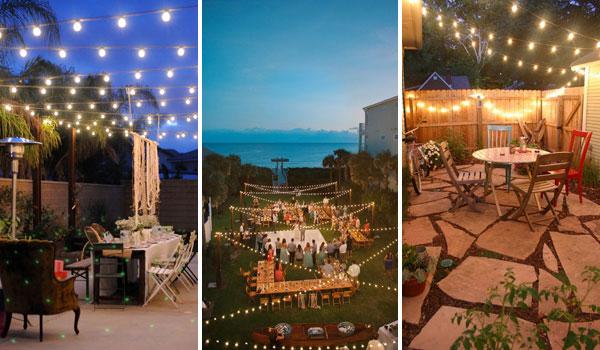 15 Amazing Yard and Patio String Lighting Ideas on Backyard String Light Designs id=58585