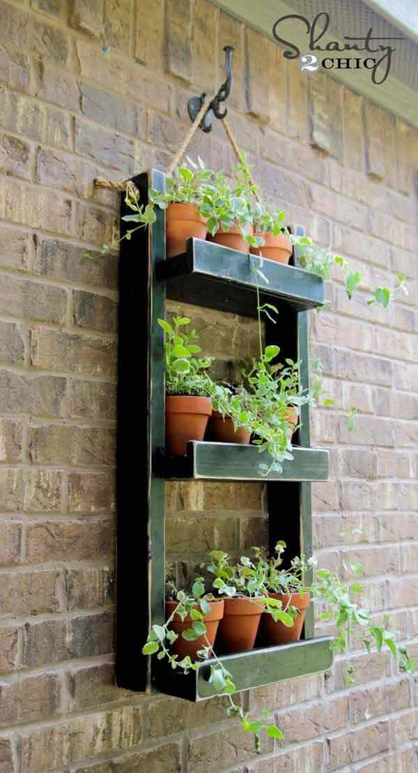 15 Smart and Cool DIY Hanging Planter Ideas To Beautify ... on Hanging Plants Stand Design  id=83395