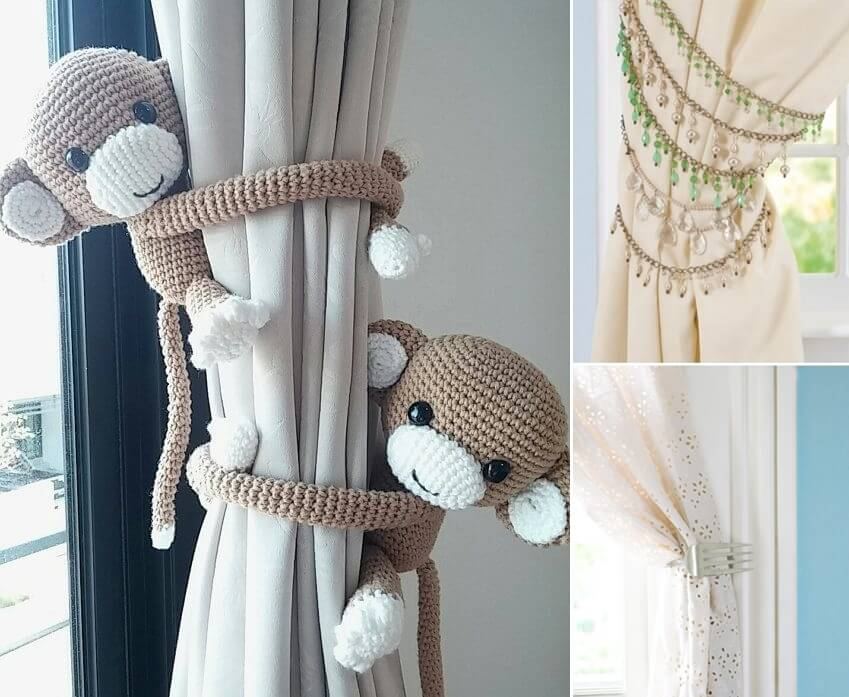 Curtain Tie Backs Should Be Unique And Cool