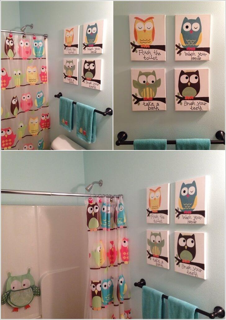 10 Cute Ideas For A Kids Bathroom