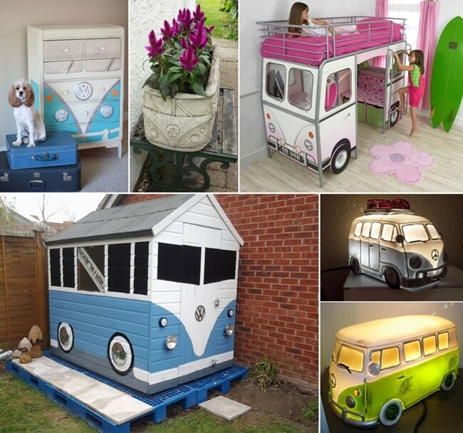 10 Cool Vw Camper Inspired Home Decor Ideas