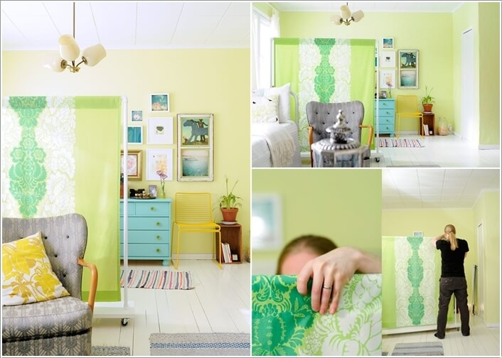 10 Cool DIY Room Divider Designs for Your Home 4