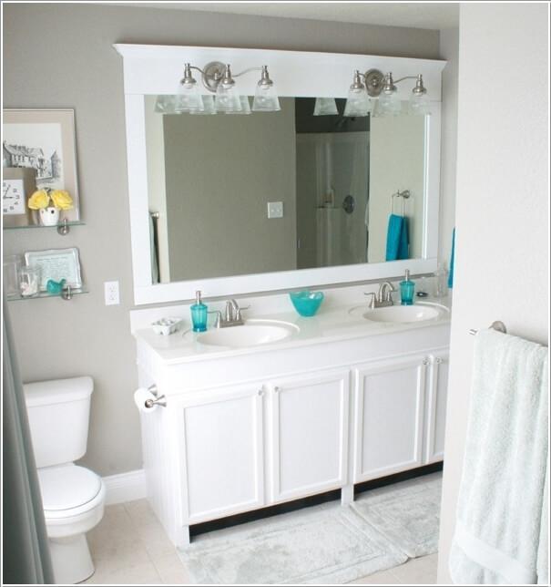 how wonderful are these diy bathroom mirror ideas!