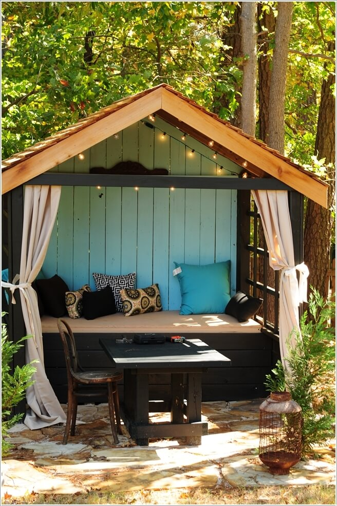 10 Outdoor Seating Nooks You Will Fall in Love With on Backyard Nook Ideas id=43044