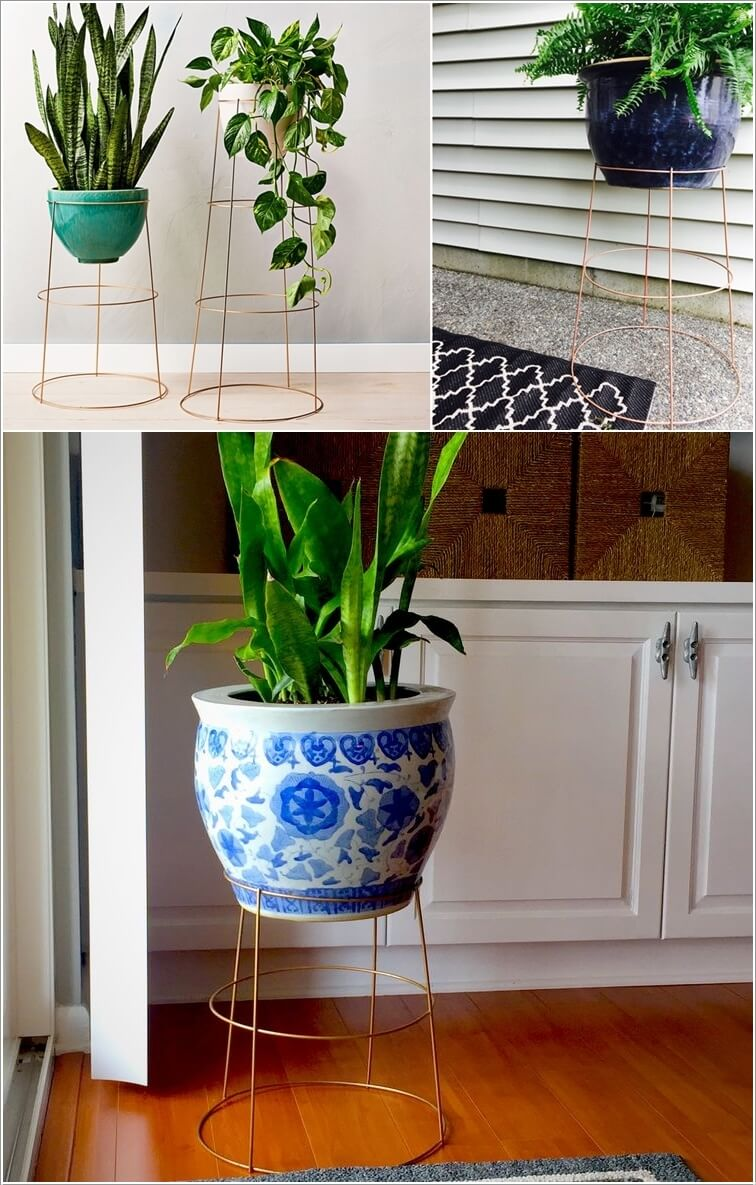 15 DIY Planter Stand Ideas for Your Home on Amazing Plant Stand Ideas  id=19566