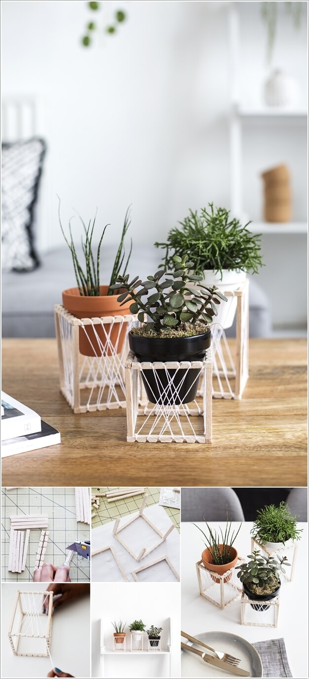 15 DIY Planter Stand Ideas for Your Home on Amazing Plant Stand Ideas  id=21459