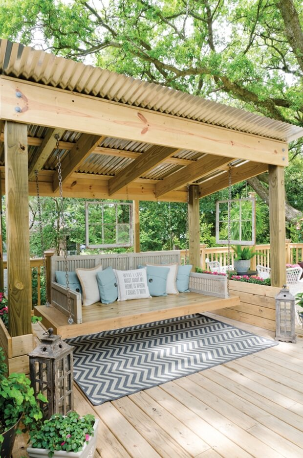 Pergola Roofing Ideas For Your Homes Outdoor