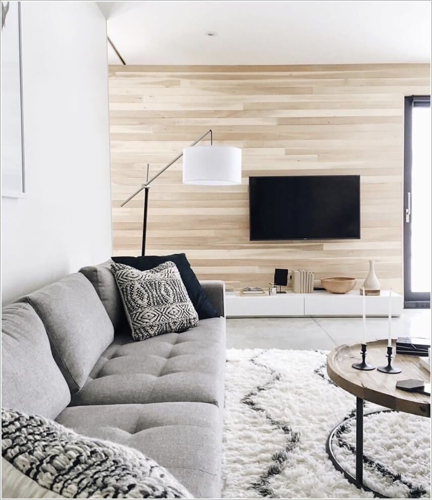 10 Creative Living Room Feature Wall Ideas on Creative Living Room Wall Decor Ideas  id=22510