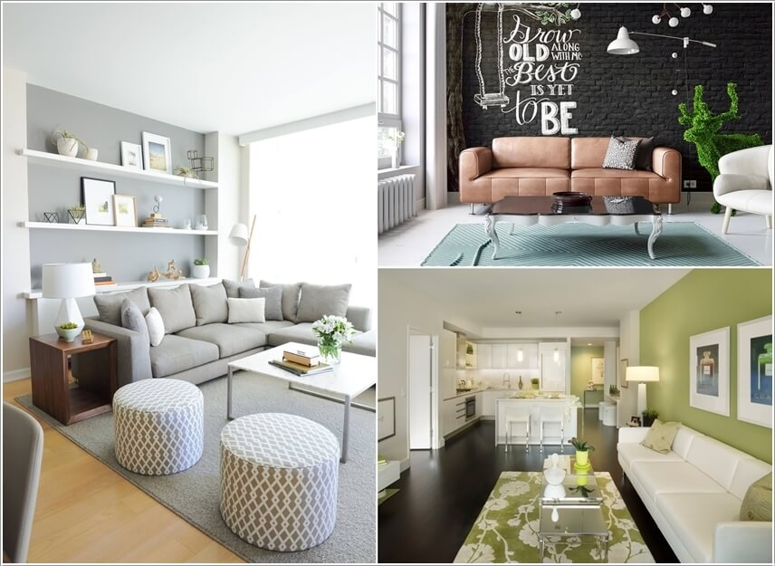 10 Creative Living Room Feature Wall Ideas on Creative Living Room Wall Decor Ideas  id=13839