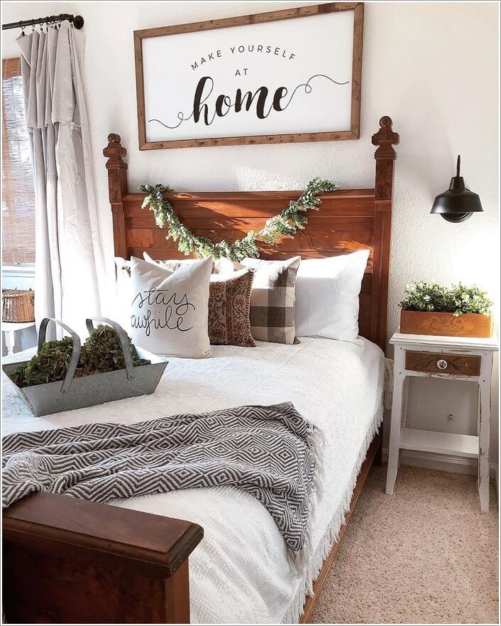Amazing Guest Bedroom Wall Decor Ideas on Bedroom Wall Decor  id=65441