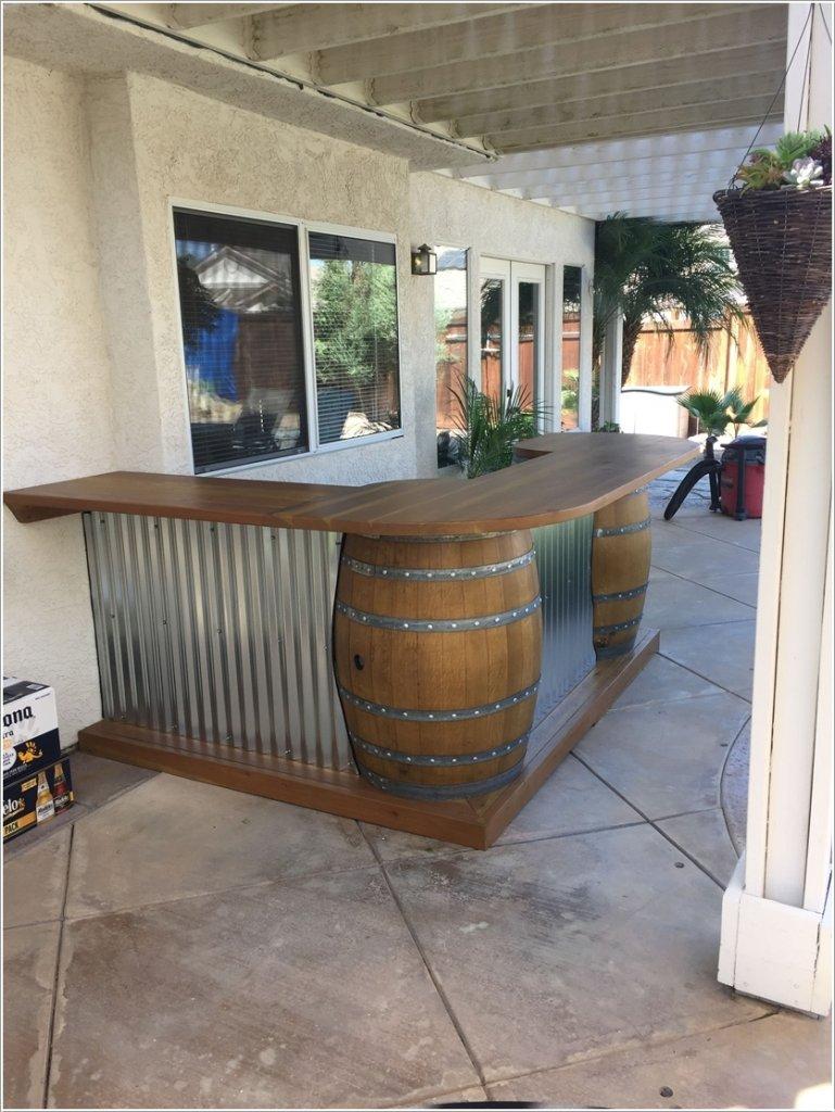 10 DIY Outdoor Drink Bar Ideas on Patio With Bar Ideas id=49022