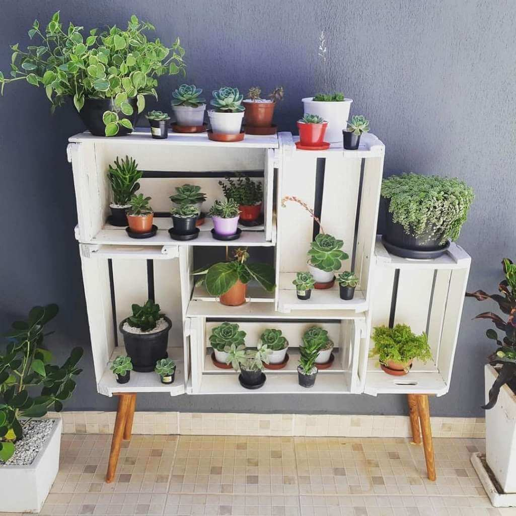 DIY Plant Stand Ideas on House Plant Stand Ideas  id=29246