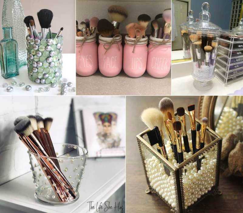 Diy Makeup Brush Holders