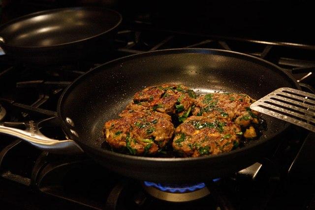 Beef and Veggie Patties