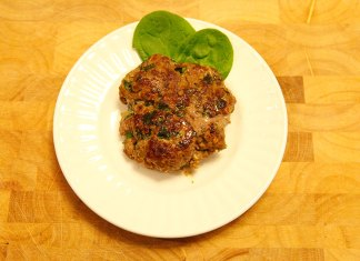 Beef and Veggie Patties
