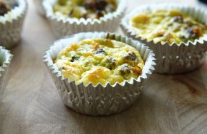 Paleo Bison and Egg Muffins
