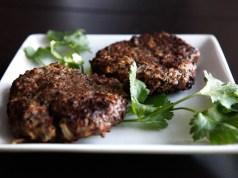 Apple Mustard Beef Paleo Burgers