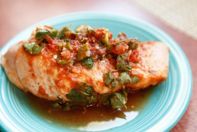 Salsa-Lime Chicken