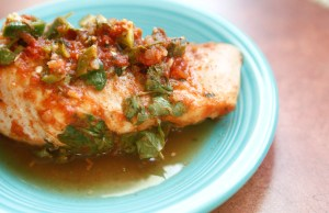 Salsa-Lime Chicken