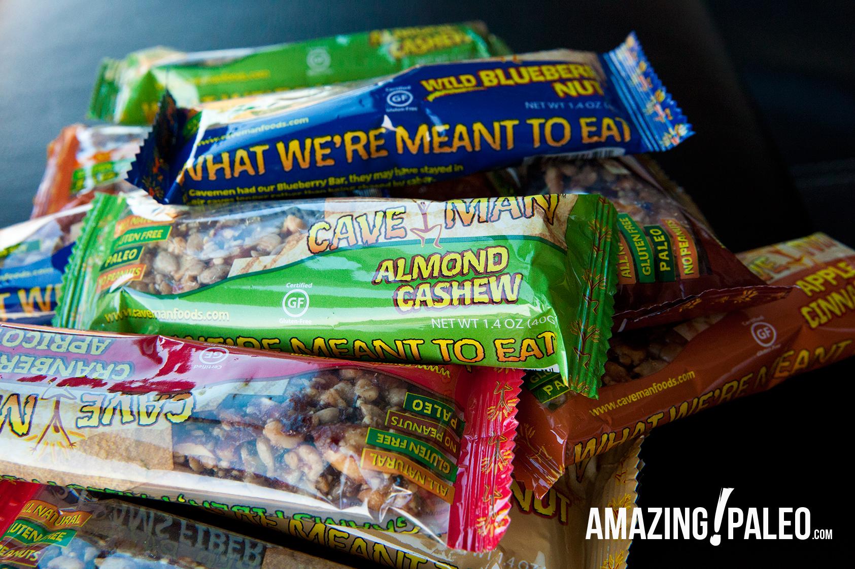 Caveman Food Bars : Caveman foods review by amazingpaleo.com