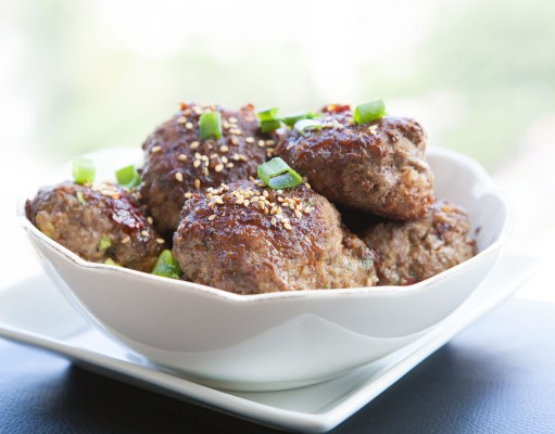 Spicy and Sweet Asian BISON Meatballs Paleo Recipe!