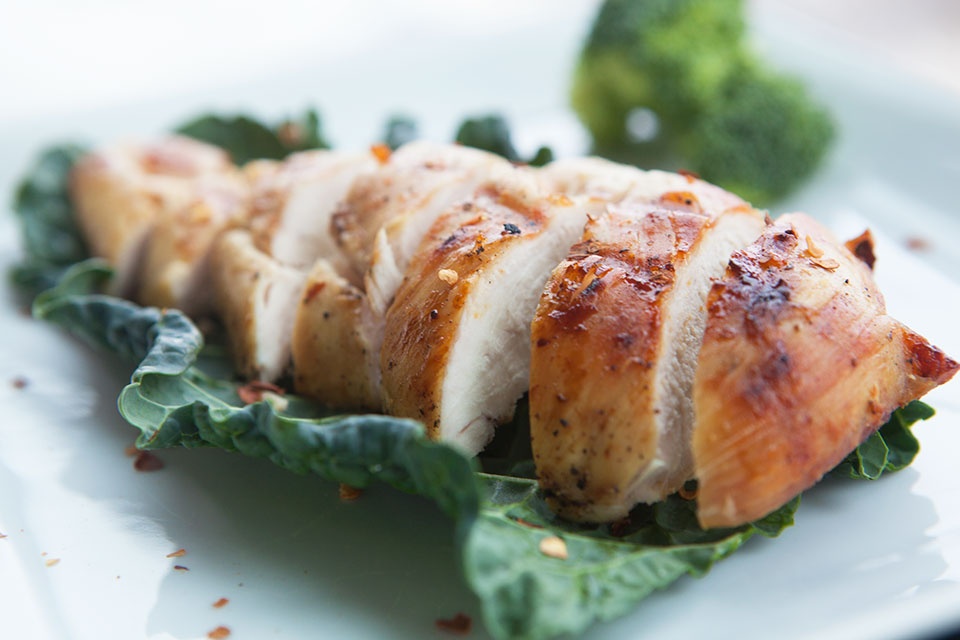 Butterflied Grilled Chicken - by AmazingPaleo.com