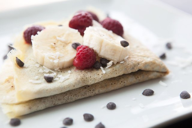 29 Paleo Treat Recipes- Chocolate Banana Paleo Crepe