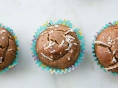 Coffee Nut Protein Muffins