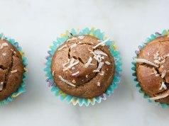 Coffee Nut Protein Muffins