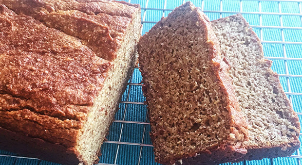 10. Energizing Banana Bread With Avocados