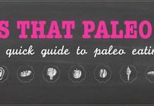 Amazing Paleo Diet Infographic