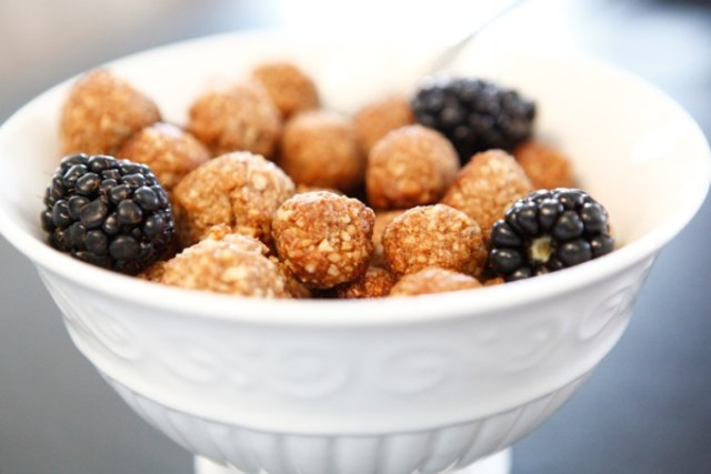 Coconut Sugar Cinnamon Puffs