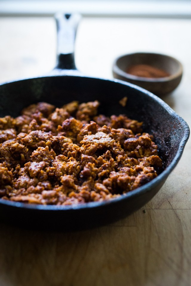 Easy Turkey Chorizo