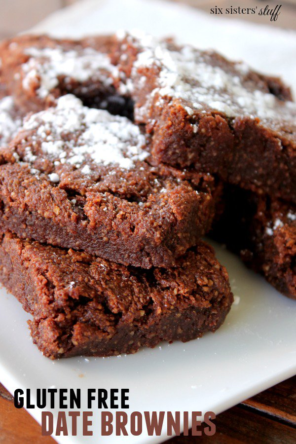 GLUTEN FREE DATE BROWNIES