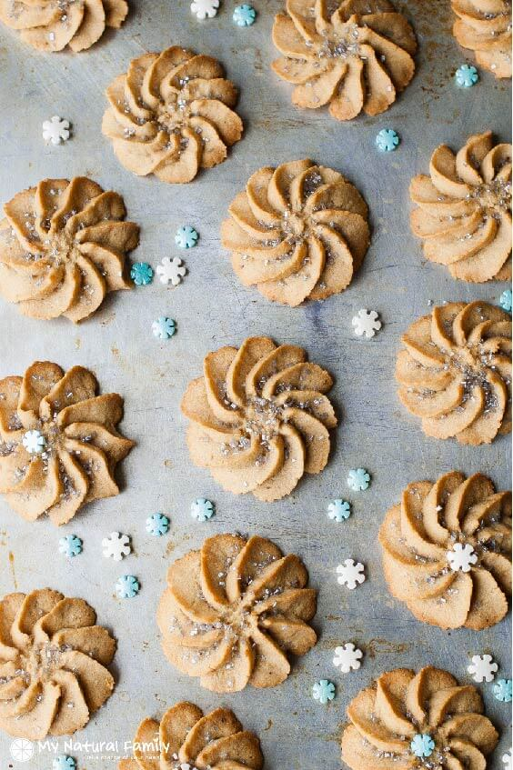 FROZEN-INSPIRED SPRITZ COOKIES RECIPE