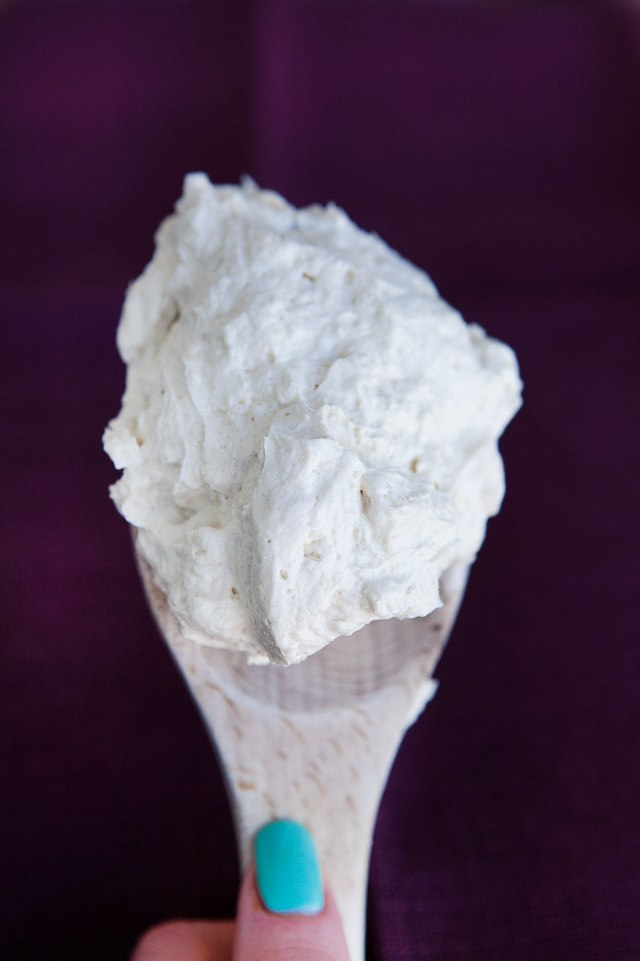 Paleo Whipped Buttercream