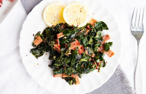 Smokey Kale Salad