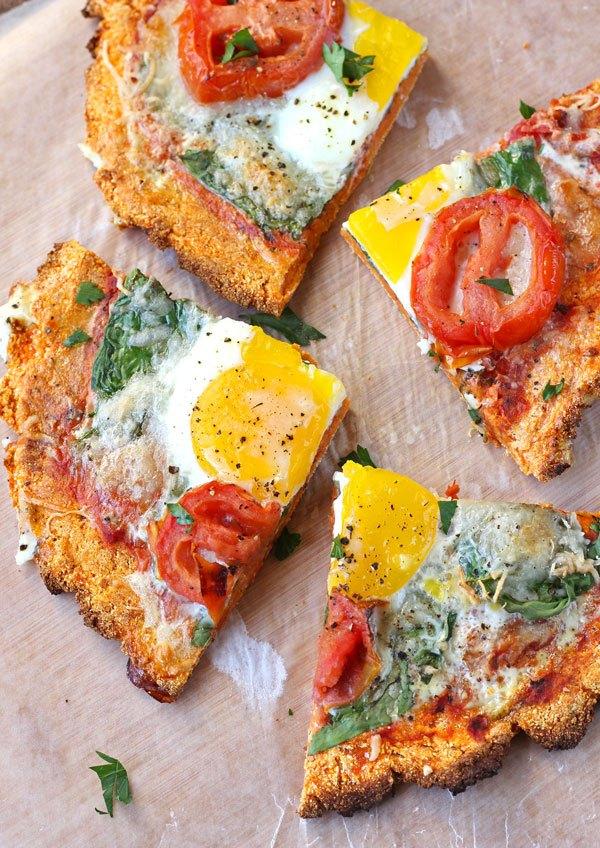 SWEET POTATO BREAKFAST PIZZA