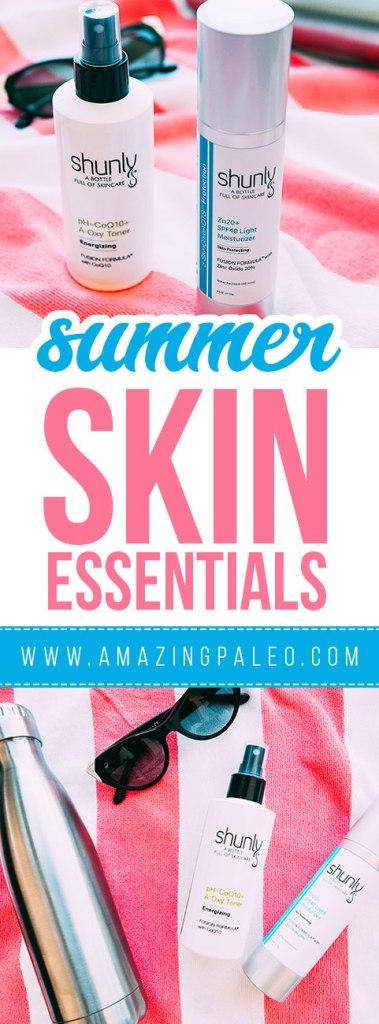 2017 Summer Skin Care Essentials