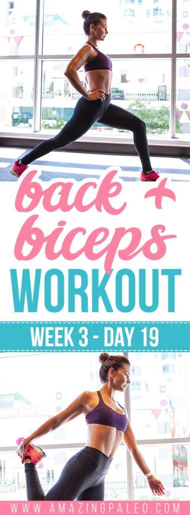 Week 3 Day 19 Workout