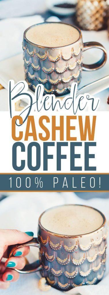 Blender Cashew Latte