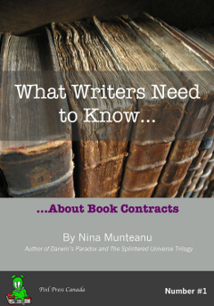 What Writers Need to Know...About Book Contracts