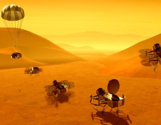 Breaking: NASA Announces Mission to Saturn's Largest Moon Titan