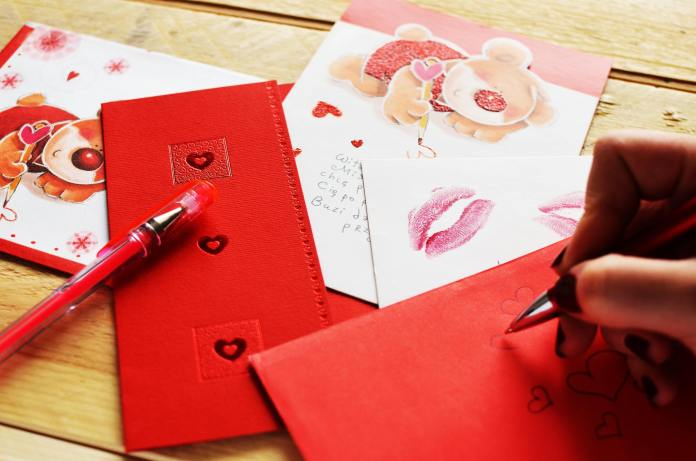 valentines day - letter gift