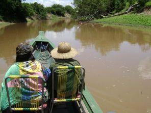 Canoe Beni river tour Amazon Rainforest Bolivia