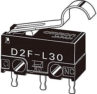 オムロン 極超小形基本スイッチ 10個入 D2F-01L30-A